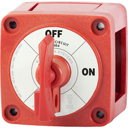 Blue Sea Systems m-Series Locking Single Circuit ON/OFF Battery Switch