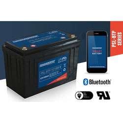 Power Sonic PSL-BTP-121000 Rechargeable Lithium Phosphate Battery