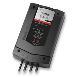 ProMariner ProMar1 15-Amp DS Generation 3 Battery Charger, 3-Bank