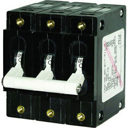 Blue Sea Systems C-Series Toggle Circuit Breaker - 80 Amp