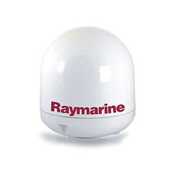 Raymarine 45STV Empty Antenna Dome with Baseplate Package