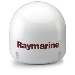 Raymarine 60STV Empty Antenna Dome with Baseplate Package