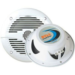 "Boss Audio Systems MR60 6-1/2"" 2-Way Marine Speakers"
