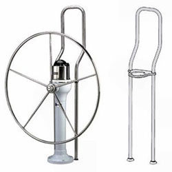 "Edson Offset Pedestal Guard Kit - 58"" High"