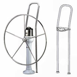 "Edson Angled Pedestal Guard Kit - 58"" High, 18° Angle"