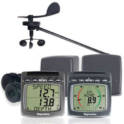 Raymarine T104 Wireless Speed, Depth and Wind NMEA System