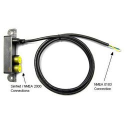 Simrad AT10 NMEA 0183 To SimNet Adapter Cable