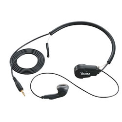 Icom VHF Earphone Headset with Throat Mic