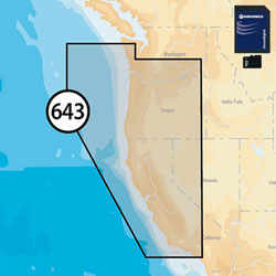 Navionics Platinum+ XL Electronic Navigation Charts - California & Oregon -MSD