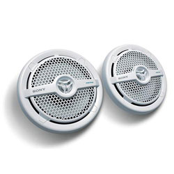 "Sony XS-MP1621 6-1/2"" 2-Way Marine Speakers"