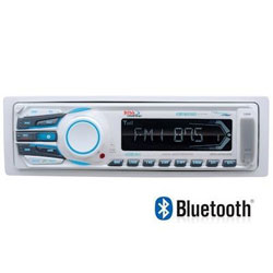 Boss Audio Systems AM / FM Bluetooth Marine Stereo Receiver