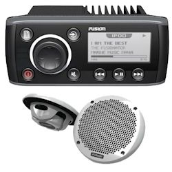 Fusion Multimedia Marine Stereo System with Speakers - FUSION-Link Enabled