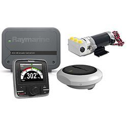 Raymarine Evolution EV-100 Power Vessel Hydraulic Autopilot Pack w/ P70R