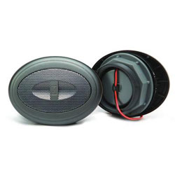 "Poly-Planar MA50G 2"" Oval Grill Component Speakers"