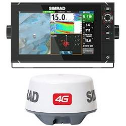 nss9 evo2 chartplotter/fishfinder multifunction display/4g radar, Fish Finder