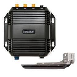 Lowrance SonarHub Sounder Module with LSS-2 HD Transom Mount Transducer