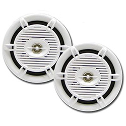 "Poly-Planar MA206 6"" 2-Way Waterproof Speakers"