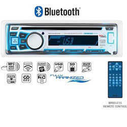 Boss Audio Systems AM / FM Bluetooth Marine Stereo Receiver with CD Player