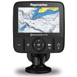 Raymarine Dragonfly 5M Chartplotter with GPS and C-MAP Essentials Charts