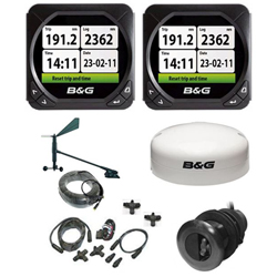 B&G T41 Triton Speed, Depth, Wind and GPS Pack