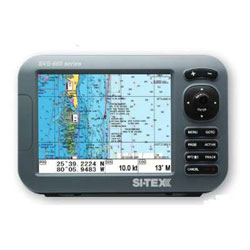 SI-TEX SVS-880C Chartplotter with Internal GPS