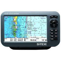 SI-TEX SVS-1010C Chartplotter with Internal GPS