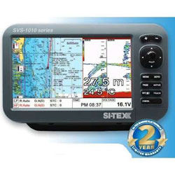 SI-TEX SVS-1010CF Chartplotter / Fishfinder with Internal GPS