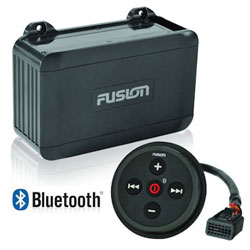 Fusion NMEA 2000 Black Box AM / FM Bluetooth Marine Stereo Receiver