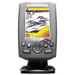 Lowrance HOOK-3x Fishfinder with Skimmer Transducer