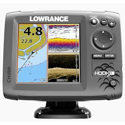 Lowrance Hook-5 Fishfinder / Chartplotter with Transducer