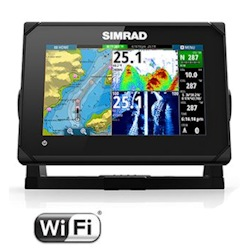 Simrad GO7 XSE Display with Insight Maps
