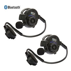 Sena Bluetooth Stereo Headset Intercom 2 Unit Package Defender Marine