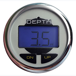 Norcross Depth Finder with Transom Mount Transducer