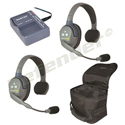 Eartec UltraLITE 2-Person Single Ear Cup Headset System