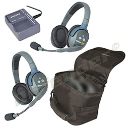 Eartec UltraLITE 2-Person Double Ear Cup Headset System