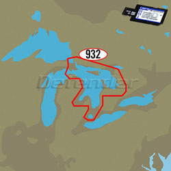 C-MAP 4D MAX+ LOCAL Electronic Navigation Charts East North America & Bermuda