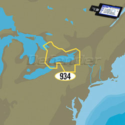 C-MAP 4D MAX+ LOCAL Electronic Navigation Charts Lake Ontario & Trent-Severn