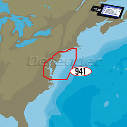C-MAP 4D MAX+ LOCAL Electronic Navigation Charts Block Island to Norfolk