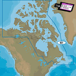 C-MAP MAX-N+ WIDE Electronic Navigation Charts Canada North and East