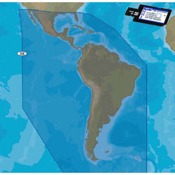 CMAP 4D CONTINENTAL Electronic Navigation Charts S. America and the Caribbean