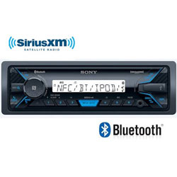 Sony AM / FM  Bluetooth Marine Stereo Receiver