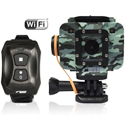 Cobra / WASPcam 9906 CAMO WiFi Action HD Waterproof Camera