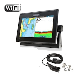 Simrad GO9 XSE Multi-Function Display with HDI Skimmer Transducer