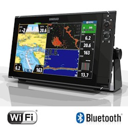 Simrad NSS16 evo3 Combo. Chartplotter/Built-in Sonar, Insight Cartography