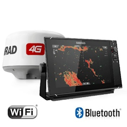 Simrad NSS12 evo3 Chartplotter with Broadband 4G Radar Bundle