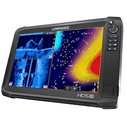 Lowrance HDS-12 Carbon Multifunction Display without Transducer