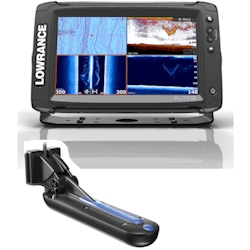 Lowrance Elite-9 Ti Display with TotalScan Transducer - Remanufactured