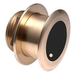 Airmar B175H Bronze Low Profile Thru Hull CHIRP Single-Band Transducer