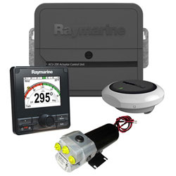 Raymarine Evolution EV-200 Power Vessel Hydraulic Autopilot Pack w/ P70Rs