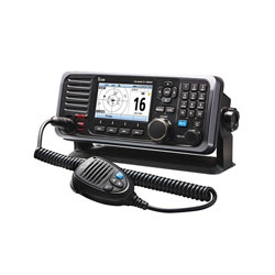 ICOM M605 Fixed Mount VHF Marine Transceiver w / 4.3